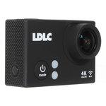 Caméra sportive 4K à mémoire flash avec Wi-Fi intégré + Boîtier étanche + Kit d'accessoires