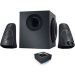 Ensemble 2.1 THX 200 Watts compatible PS2 / PS3 / Xbox 360 / Wii + Adaptateur Bluetooth pour conversion de haut-parleurs en système audio sans fil