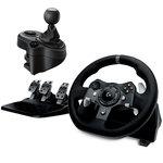 Volant + Pédalier (pour PC/ Xbox One) + Boite à 6 vitesses pour Logitech G29 et G920