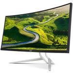 3440 x 1440 pixels - 4 ms - Format large 21/9 - Dalle IPS incurvée - DisplayPort - HDMI - Hub USB 3.0 - FreeSync - Noir/Argent (Garantie constructeur 2 ans)