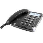 Téléphone filaire à grosses touches avec identification d'appel
