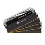Kit Quad Channel 4 barrettes de RAM DDR4 PC4-24000 - CMD64GX4M4C3000C15 (garantie à vie par Corsair)