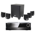 Ampli-tuner Home Cinema 3D Ready 5.1 DLNA avec HDMI 2.0 4K, Bluetooth, Spotify Connect + Pack d'enceintes compactes 5.1