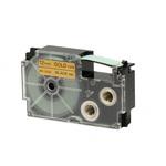 Ruban 12 mm x 8m noir sur or pour étiqueteuse KL-60, KL-120, KL-130, KL-820, KL-7400, KL-G2, KL-HD1