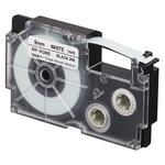 Ruban adhésif haute-résistance 9 mm x 5.5 m noir sur blanc pour étiqueteuse KL-120, KL-130, KL-820, KL-7400, KL-HD1, KL-G2