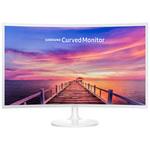 1920 x 1080 pixels - 4 ms - Format large 16/9 - Dalle VA incurvée - DisplayPort - HDMI - Blanc