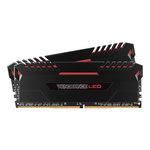Kit Dual Channel 2 barrettes de RAM DDR4 PC4-25600 - CMU16GX4M2C3200C16R (garantie à vie par Corsair)