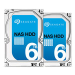 """Pack spécial NAS de 2 Disques durs 3.5"""" 6 To 7200 RPM 128 Mo Serial ATA 6 Gb/s pour NAS"""