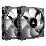 Paire de ventilateurs de boîtier hautes performances à lévitation magnétique 120 mm