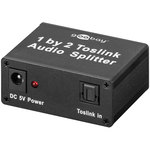Splitter audio Toslink 1 vers 2
