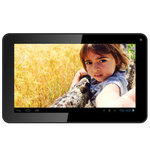 "Tablette Internet - Allwinner A33 Quad-Core 512 Mo 8 Go 9"" LED tactile Wi-Fi Webcam Android 4.4"