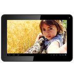 "Tablette Internet - Allwinner A33 Quad-Core 512 Mo 4 Go 10.1"" LED tactile Wi-Fi Webcam Android 4.4"