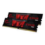 Kit Dual Channel 2 barrettes de RAM DDR4 PC4-24000 - F4-3000C16D-16GISB (garantie à vie par G.Skill)