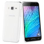 Coque de protection arrière + film protecteur pour Samsung Galaxy J3 2016