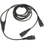 Câble Y pour superviseur pour micro-casques Jabra Quick Disconnect - 1,5 m