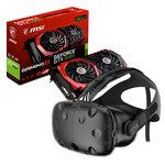 Casque de réalité virtuelle + carte graphique NVIDIA GeForce GTX 1080 8 Go