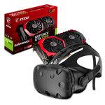 Casque de réalité virtuelle + carte graphique NVIDIA GeForce GTX 1060 6 Go