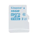 MicroSD 16 Go Action Camera UHS-I U3 (garantie à vie par Kingston)