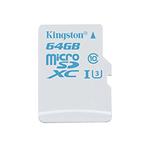MicroSD 64 Go Action Camera UHS-I U3 (garantie à vie par Kingston)