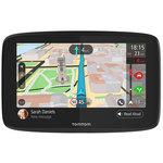 """GPS Monde Ecran 6"""" - Cartographie, Trafic et Zones de danger gratuits à vie - Wi-Fi"""
