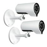 Pack de 2 mini-caméras bullet HD Cloud sans fil AC à vision diurne et nocturne