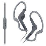 Écouteurs intra-auriculaires étanches avec télécommande et micro