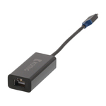 Adaptateur USB 3.1 type C (USB-C) mâle vers Gigabit Ethernet RJ45 femelle (noir)