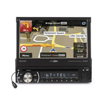 Autoradio CD/DVD/USB/SD/AUX MP3 et Bluetooth A2DP avec système de navigation inclus