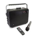 Haut-parleur Bluetooth portatif avec batterie intégrée, radio FM et karaoké