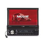 "Autoradio Tuner FM/USB/Carte SD MP3 avec Bluetooth A2DP+AVRCP et écran tactile 7"""