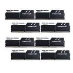 Kit Quad Channel 8 barrettes de RAM DDR4 PC4-27700 - F4-3466C16Q2-64GTZKW - Blanc et noir (garantie 10 ans par G.Skill)