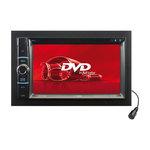 """Autoradio DVD/USB/SD Tuner FM/AM Entrée AUX/AV et Bluetooth avec écran tactile 6.2"""""""