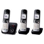 Téléphone DECT sans fil avec répondeur et combinés supplémentaires (version française)