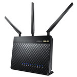 Routeur sans fil Dual Band Wi-Fi AC1900 (AC1300 + N600) + 4 ports LAN 10/100/1000 Mbps