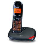 Téléphone DECT sans fil amplifié avec touches et écran XL (version française)