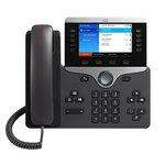 Téléphone VoIP 5 lignes PoE avec USB, Bluetooth et Wifi intégrés