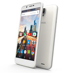 "Smartphone 4G-LTE Dual SIM - ARM Cortex-A53 Quad-Core 1.3 GHz - RAM 1 Go - Ecran tactile 5.5"" 720 x 1280 - 16 Go - Bluetooth 4.0 - 2700 mAh - Android 6.0"