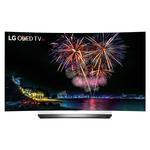 "Téléviseur incurvé OLED 3D 4K 55"" (140 cm) 16/9 - 3840 x 2160 pixels - TNT, Câble et Satellite HD - Ultra HD 2160p - HDR - Wi-Fi - Bluetooth - DLNA"