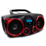 Radio CD portable MP3 USB avec Tuner FM/AM et Bluetooth