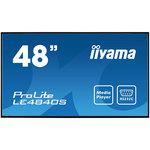 1920 x 1080 pixels 16:9 - SVA - 4000:1 - 8 ms - HDMI - Haut-parleur intégré - Noir