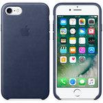 Coque en cuir pour Apple iPhone 7