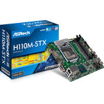 Carte mère Mini-STX Socket 1151 Intel H110 Express - SATA 6Gb/s- M.2 - USB 3.0