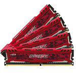 Kit Quad Channel  RAM DDR4 PC4-19200 - BLS4C8G4D240FSEK (garantie 10 ans par Crucial)