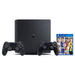 Console de jeux-vidéo nouvelle génération avec disque dur 500 Go + 2 manettes sans fil + FIFA 17