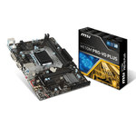 Carte mère Micro ATX Socket 1151 Intel H110 Express - SATA 6Gb/s - DDR4 - USB 3.1 - 1x PCI-Express 3.0 16x