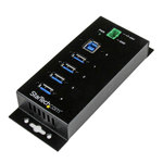 Hub 4 ports USB 3.0 avec protection contre surtension