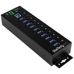 Hub 10 ports USB 3.0 avec protection contre surtensions