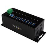 Hub 7 ports USB 3.0 avec protection contre les décharges d'électricité statique